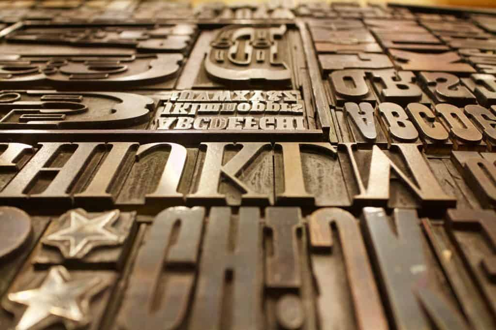 The Importance of Typography- and what it says about Your Brand
