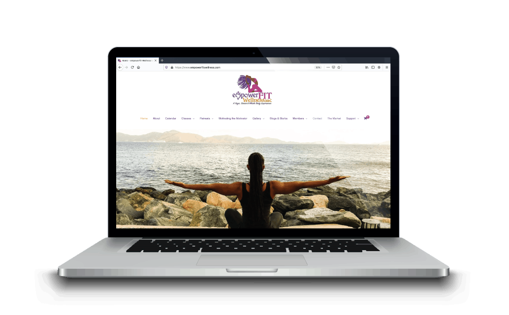 websites for yoga and pilates instructors welby creative
